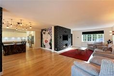 5 bedroom detached house for sale in Dunstable Road, Studham, Dunstable, Bedfordshire, - Rightmove. Detached House, Open Plan, Property For Sale, Reception, How To Plan, Living Room, Bedroom, Furniture, Home Decor