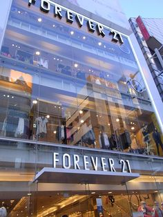 Love me some Forever 21. Must visit this store.