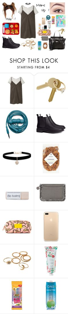 """🔖 Back to School 4 !! ✂️"" by milena-serranista ❤ liked on Polyvore featuring aNYthing, Maison Margiela, Urbanears, H&M, Betsey Johnson, Daylesford, Butter London, STELLA McCARTNEY, Cath Kidston and Ash"