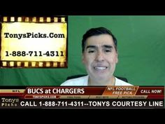 Tampa Bay Buccaneers vs. San Diego Chargers Pick Prediction NFL Pro Foot...