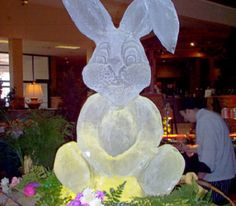 Our ice sculpture molds can produce detailed and professional-looking ice sculptures and can certainly add a dramatic feature in the events you hold. Ice Molds, Ice Sculptures, Easter Bunny, Rabbit, Projects To Try, Parties, Events, Statue, Decoration