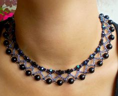 Free pattern for necklace Nicole | Beads Magic