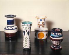 vasos de cerâmica de Aldemir Martins, 1965