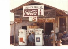 Old Haddock's Grocery store... Ozark, AR
