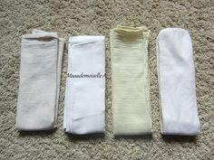 || Couches lavables Hamac : Le jour où j'ai remplacé les absorbants par des langes