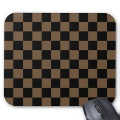 simple chess color mouse pad  $12.00  by PedroVale  - cyo diy customize personalize unique