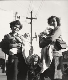 War Babies, Richmond, California  Dorothea Lange