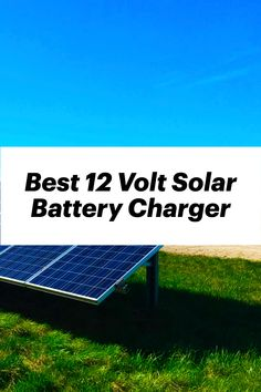 Charge and maintain your batteries with these solar-powered maintainers to avoid extra costs. Solar battery chargers are quick and efficient devices to charge up batteries of your everyday electronics. Whether it's your vehicle's battery or a solo portable battery for camping purposes, these chargers allow you to conveniently charge them up anywhere. These chargers not only charge the batteries but also maintain them constantly, thus saving you the effort. 12v Solar Panel, Solar Panel Kits, Solar Panels, Lead Acid Battery Charger, Solar Panel Charger, Solar Car, Portable Battery, Solar Power, Effort