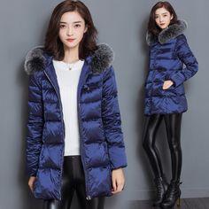 >> Click to Buy << Women Winter Parka Womens Winter Jackets Womens Parka Fur Hooded Long Winter Jacket Womens Down Jackets Winter Outerwear Women #Affiliate