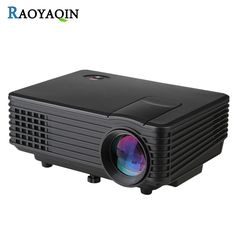 93.70$  Buy here - http://alivp4.worldwells.pw/go.php?t=32794147885 - RD805 LED Projector Support 1080P Full HD Home Theater Video Projector 800 Lumens VGA/AV/USB/HDMI/TV Portable Beamer Cinema