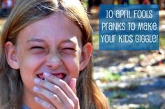 10 April Fools Pranks for Kids