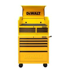 DEWALT Metal Rolling and Top Storage Chest provides increased and enough storage capacity to store larger tools.