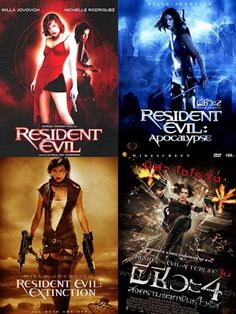 Resident Evil I haven't seen these yet, but they are on my to-watch list