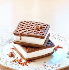 Cookbook Recipes, Cooking Recipes, Sorbet, Chocolate Cake, Waffles, Food And Drink, Ice Cream, Cupcakes, Sweets