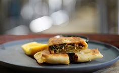 Ibby and Romel - Lamb Gozleme. Add the ale to the bread mixture My Kitchen Rules, Kitchen Signs, Beer Battered Chicken, Brown Mushroom, How To Cook Mushrooms, Spaghetti And Meatballs, Latest Recipe, Tomato Paste, Entrees