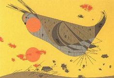 Heath Hen by Charley Harper