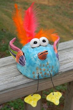 Pinch Pot Clay Birds- Turn an ordinary pinch pot into an extraordinary cute bird to display on a shelf. April 9 2013 4:30-5:30pm $10 Ages 6-12 Call 405-359-4630 to register