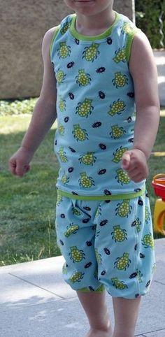 shirt - free sewing pattern (looks like a boy's tank top)