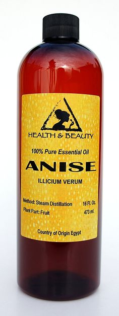 Anise Essential Oil Organic Aromatherapy Therapeutic Grade 100 Pure Natural 16 oz ** Visit the image link more details. Lime Essential Oil, Lemongrass Essential Oil, 100 Pure Essential Oils, Steam Distillation, Parts Of A Plant, Organic Soap, Aromatherapy, Feel Good, The 100