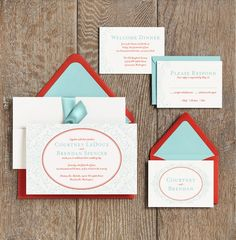 Horizontal layout    Wedding Invitation Ideas | Paper Source