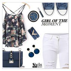 """Girl of the moment"" by simona-altobelli ❤ liked on Polyvore featuring Converse, Valentino, Marni, Giorgio Armani, Sheinside and shein"