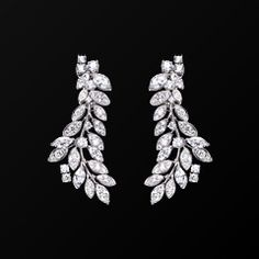 White gold Diamond Earrings G38LF200 - Piaget Luxury Jewelry