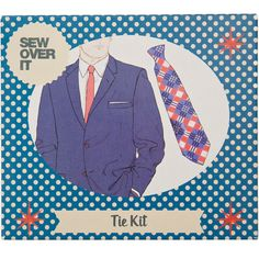 Tie making kit (£15.00) - fabric and pattern from: Sew Over It.co.uk