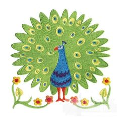 Jacobean Peacock 9