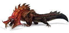 Crocothing Monster from Guild Wars Nightfall
