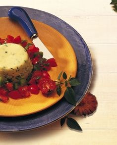 Egg Timbales with Tomato Salsa