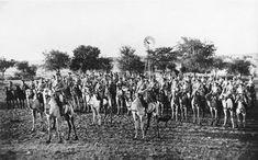Escuadrón de camellos África del Sudoeste 1914. http://www.aresenyalius.es/catalogo/la-i-guerra-mundial-en-africa-1-detail