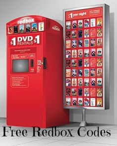 Redbox Codes Redbox Codes Want some FREE Redbox Codes and a FREE Movie code for today? You can text the word FREEBIES to 727272 for a FREE 1 night rental from Redbox…just don't forget … Redbox Movies, First Night Movie, Free Redbox Codes, Video Game Rental, Rent Movies, Free Credit Score, Money Saving Mom, Making Life Easier