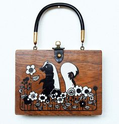 Enid Collins Flower Box Bag by niwotARTgallery on Etsy, SOLD