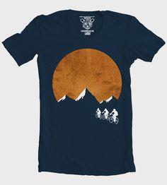 Men's Sunset Ride T-Shirt | Men's T-Shirts | Clockwork Gears