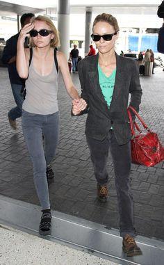 Vanessa Paradis and Lily-Rose Depp