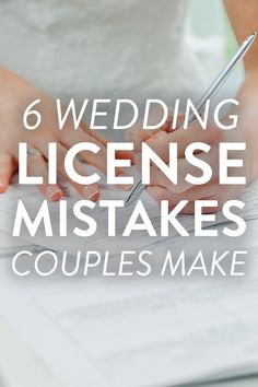 Your wedding license carries a lot of weight! Here are seven things you need to know to make sure you legally become husband and wife, on SHEfinds. Plan My Wedding, Wedding Advice, Budget Wedding, Wedding Vendors, Dream Wedding, Wedding Ideas, Perfect Wedding, Wedding Stuff, Wedding Songs