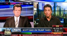 Scott Baio discusses Donald Trump's taxes with Neil Cavuto on Fox News...so much for Cavuto's credibility!