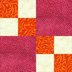 These Double Four Patch Quilt Blocks are Simple as Can Be to Make: Get Ready to Sew Double Four Patch Blocks