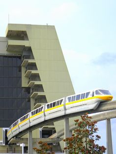 Contemporary Resort: Journey by WDW Monorail