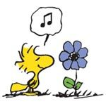 Woodstock says it all without saying anything.