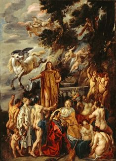 Jacob Jordaens, (baptized May 20, 1593, Antwerp, Spanish Netherlands [now in Belgium]—died October 18, 1678, Antwerp), Baroque artist whose boisterous scenes of peasant life and sensuous allegories made him one of the most important painters of 17th-century Flanders.