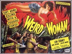 Weird Woman (1944) - Realart re-release poster