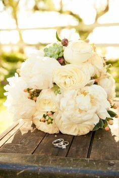 Found on WeddingMeYou.com - Romantic Peony Bridal Bouquets