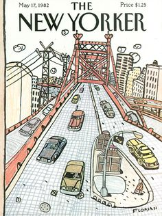 The New Yorker - Monday, May 17, 1982 - Issue # 2987 - Vol. 58 - N° 13 - Cover by : Douglas Florian