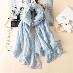 Apparel Accessories 2019 New Special Print Adult Offer Silk Thin Long Design Cotton Scarf Womens Autumn And Winter Bali Yarn Oversized Beach Towel Fine Craftsmanship