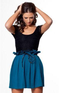 Mallorca skirt in teal