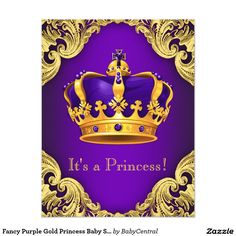 african american princess baby shower invitation | princess baby, Baby shower invitations