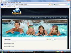 Roy's Pools - From template Pools, Templates, Role Models, Swimming Pools, Template, Western Food, Ponds, Patterns, Water Feature