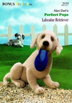 Alan Dart's Perfect Pups Labrador Retriever (Sirdar Knitting Pattern 2039) by Alan Dart, http://www.amazon.co.uk/dp/B004FPXLTI/ref=cm_sw_r_pi_dp_m-Mitb1092PSN