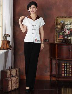 a0a6aae900 Koszula narodowa chińska damska Satynowa bluzka Rozmiar M do 3XL